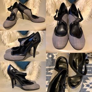 Chinese Laundry Plaid High Heels Size 7.5